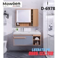Bộ tủ chậu Lavabo cao cấp Mowoen D-6978