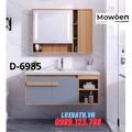 Chậu rửa mặt liền tủ 4 ngăn Mowoen D-6985