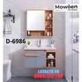 Bộ tủ chậu Lavabo cao cấp Mowoen D-6986
