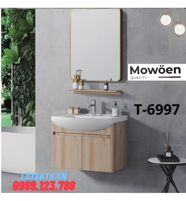 Bộ tủ chậu Lavabo cao cấp Mowoen D-6997