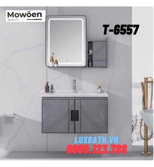 Bộ tủ chậu Lavabo cao cấp Mowoen T-6557
