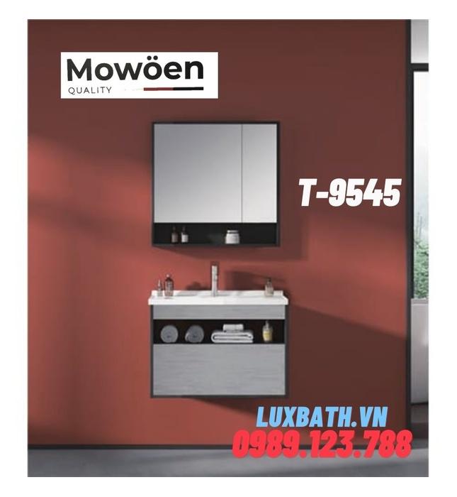 Bộ tủ chậu Lavabo cao cấp Mowoen T-9545