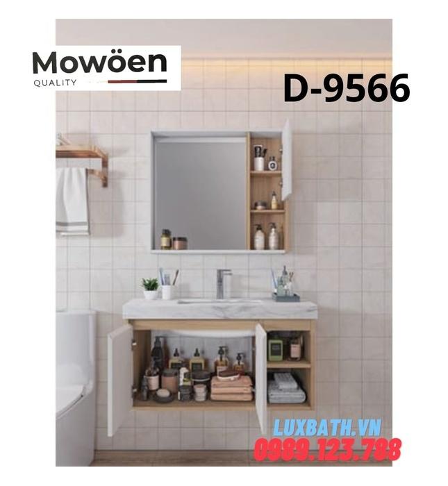 Bộ tủ chậu Lavabo cao cấp Mowoen T-9566