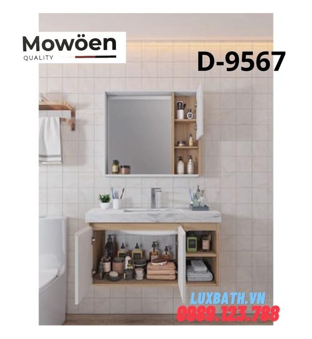 Bộ tủ chậu Lavabo cao cấp Mowoen T-9567