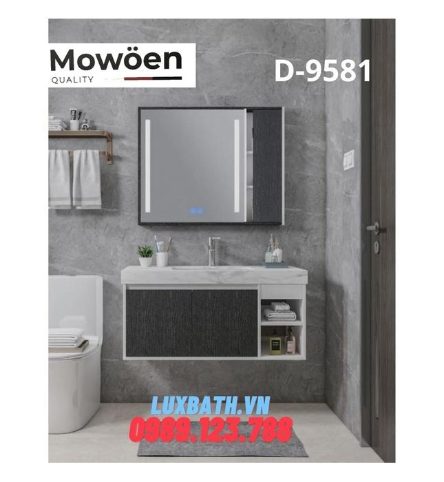 Bộ tủ chậu Lavabo cao cấp Mowoen T-9581