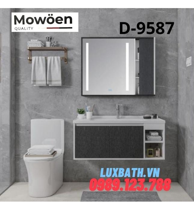 Bộ tủ chậu Lavabo cao cấp Mowoen T-9587