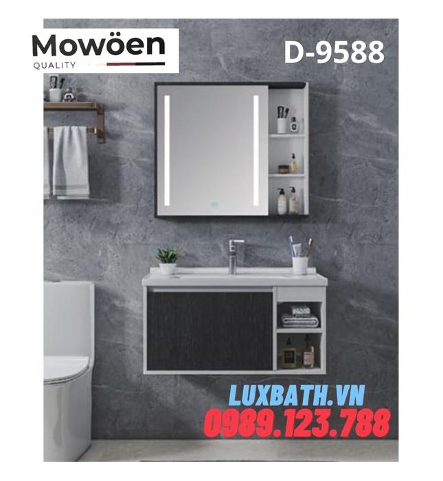 Bộ tủ chậu Lavabo cao cấp Mowoen T-9588