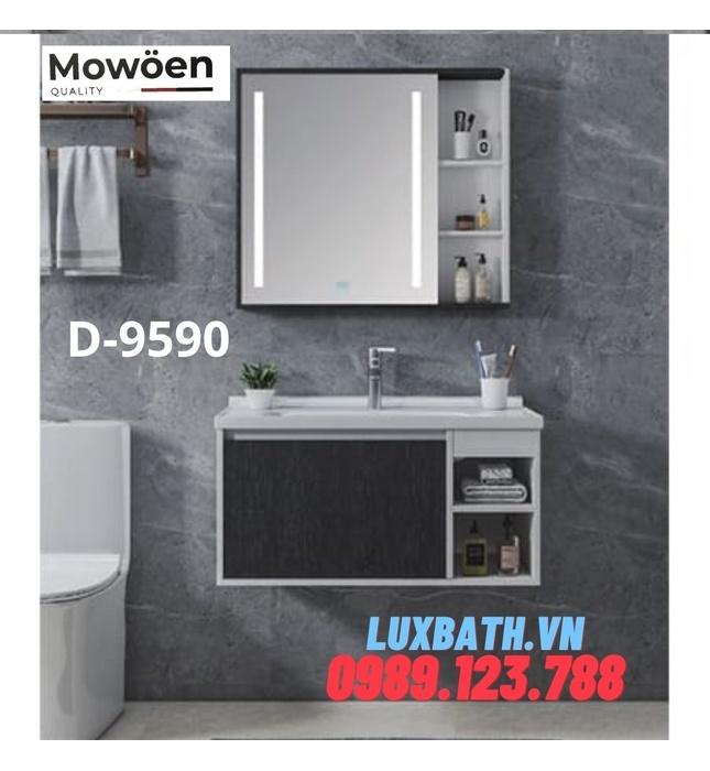 Bộ tủ chậu Lavabo cao cấp Mowoen T-9590
