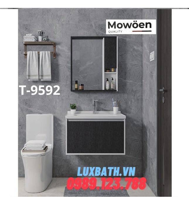 Bộ tủ chậu Lavabo cao cấp Mowoen T-9592