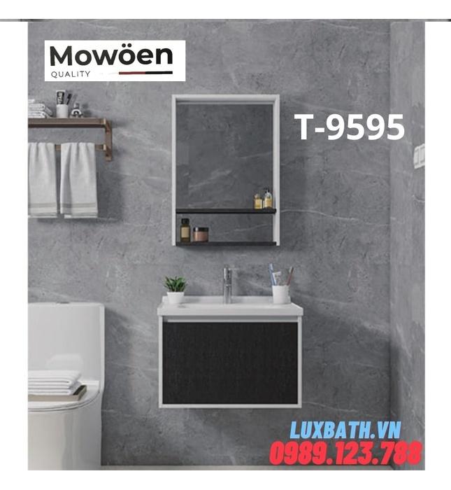 Bộ tủ chậu Lavabo cao cấp Mowoen T-9595
