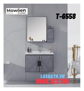 Bộ tủ chậu Lavabo cao cấp Mowoen T-6558
