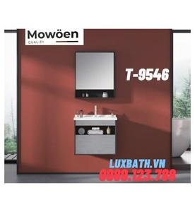 Bộ tủ chậu Lavabo cao cấp Mowoen T-9546