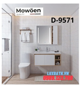 Bộ tủ chậu Lavabo cao cấp Mowoen T-9571