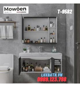 Bộ tủ chậu Lavabo cao cấp Mowoen T-9582