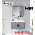 Bộ tủ chậu Lavabo cao cấp Mowoen T-6559