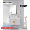 Bộ tủ chậu Lavabo cao cấp Mowoen T-9553
