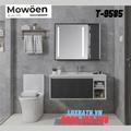 Bộ tủ chậu Lavabo cao cấp Mowoen T-9585
