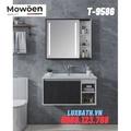 Bộ tủ chậu Lavabo cao cấp Mowoen T-9586