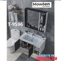 Bộ tủ chậu Lavabo cao cấp Mowoen T-9596