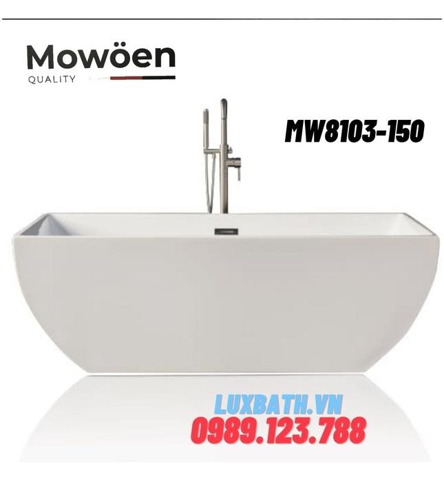 Bồn Tắm Đặt Sàn Mowoen MW8103-150 1500cm