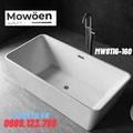 Bồn tắm lập thể đặt sàn hình chữ nhật Mowoen MW8116-160 1600cm