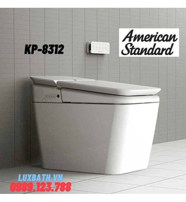 Bồn Cầu Điện Tử American Standard KP-8312 PLAT Nắp Tự Động