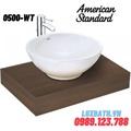 Chậu rửa đặt bàn American Standard 0500-WT