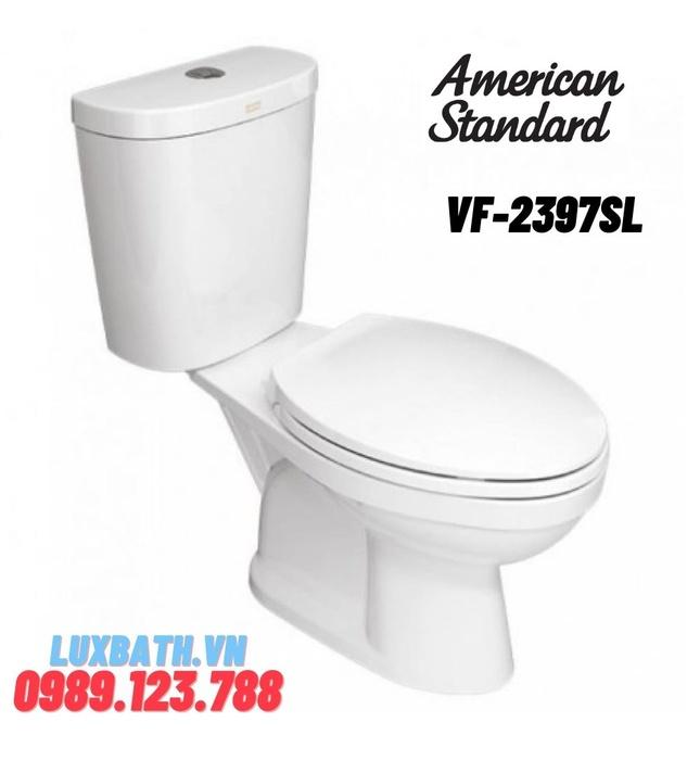 Bồn Cầu 2 khối American Standard VF-2397SL