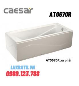 Bồn Tắm Chân Yếm Phải 1700cm Caesar AT0670R