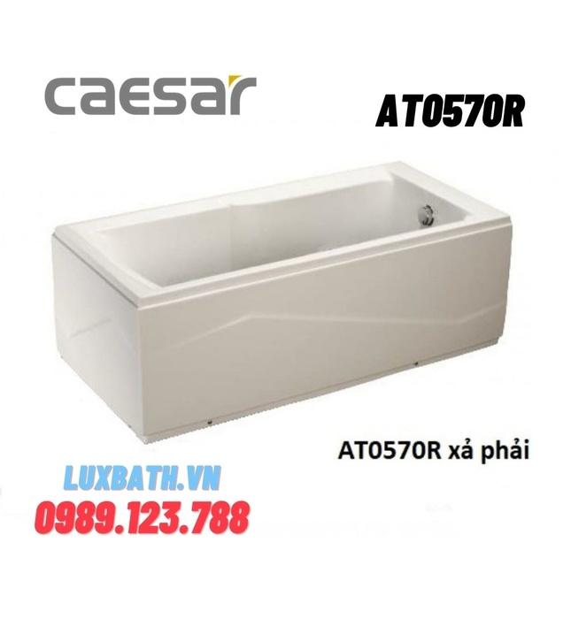 Bồn Tắm Chân Yếm 1.7M Caesar AT0570R