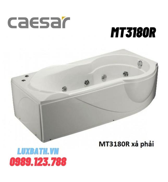 Bồn Tắm Massage Yếm phải Caesar MT3180R 1810cm