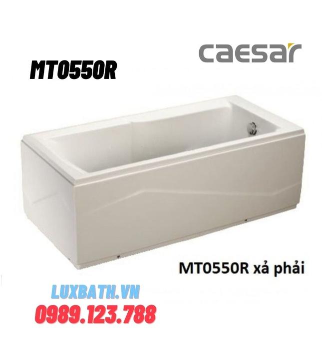Bồn Tắm Massage 1520cm Chân Yếm phải Caesar MT0550R