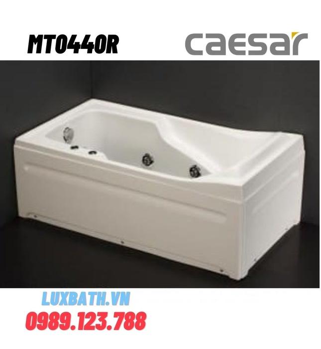 Bồn tắm massage yếm phải Caesar MT0440R 1410cm
