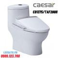 Bồn cầu 1 khối nắp điện tử Caesar CD1375/TAF200H