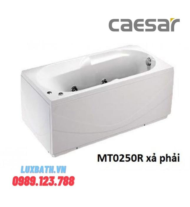 Bồn Tắm Massage Yếm Phải Caesar MT0250R 1510cm