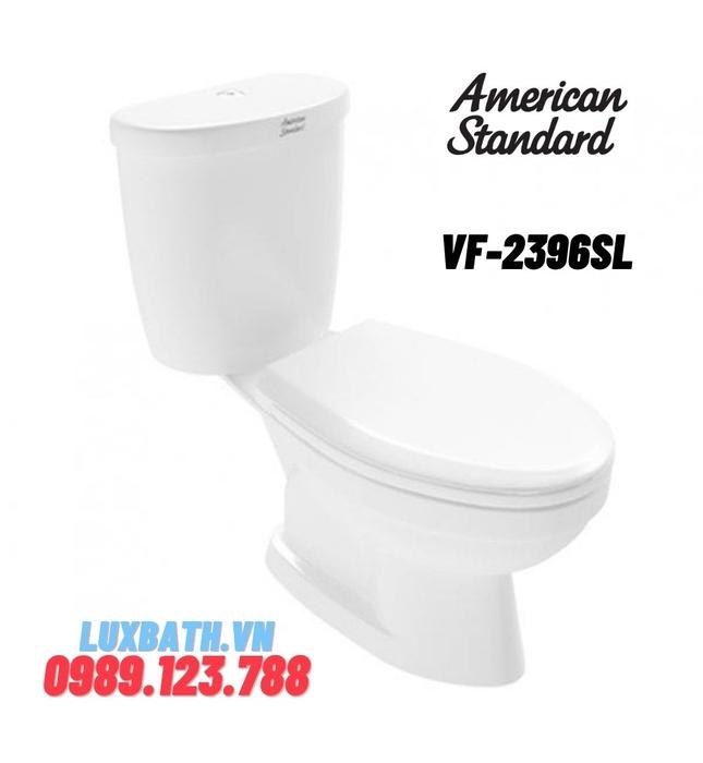 Bàn cầu 2 khối AMERICAN STANDARD VF-2396SL