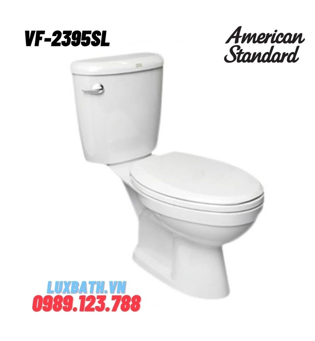 Bồn Cầu 2 khối American Standard VF-2395SL