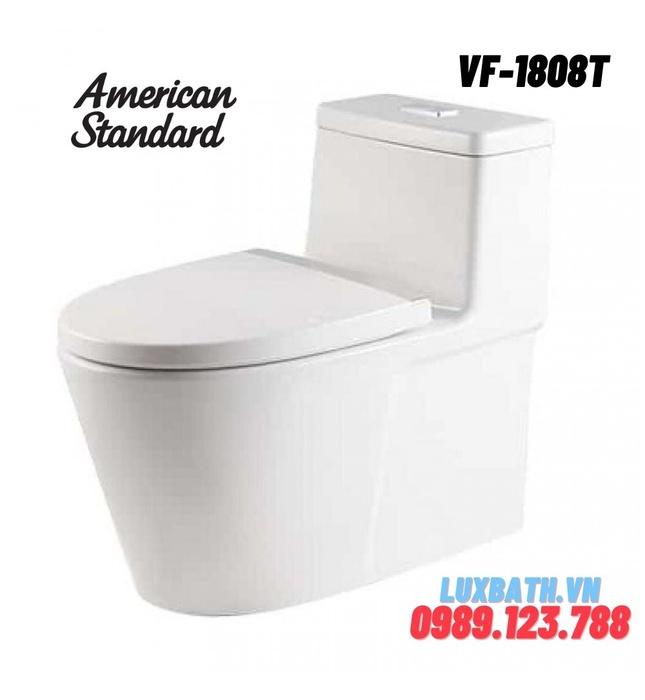 Bồn Cầu American Standard VF-1808T Nắp Sứ Mỏng