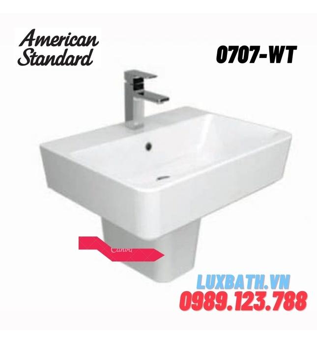 Chân chậu lửng AMERICAN STANDARD 0707-WT