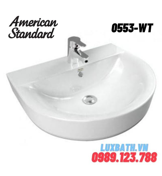 Chậu rửa mặt American Standard 0553-WT
