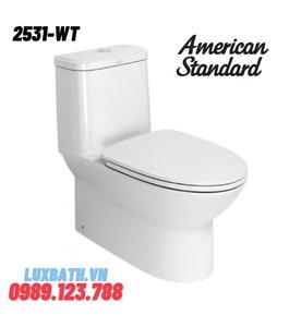 Bàn Cầu 1 Khối AMERICAN STANDARD 2531-WT