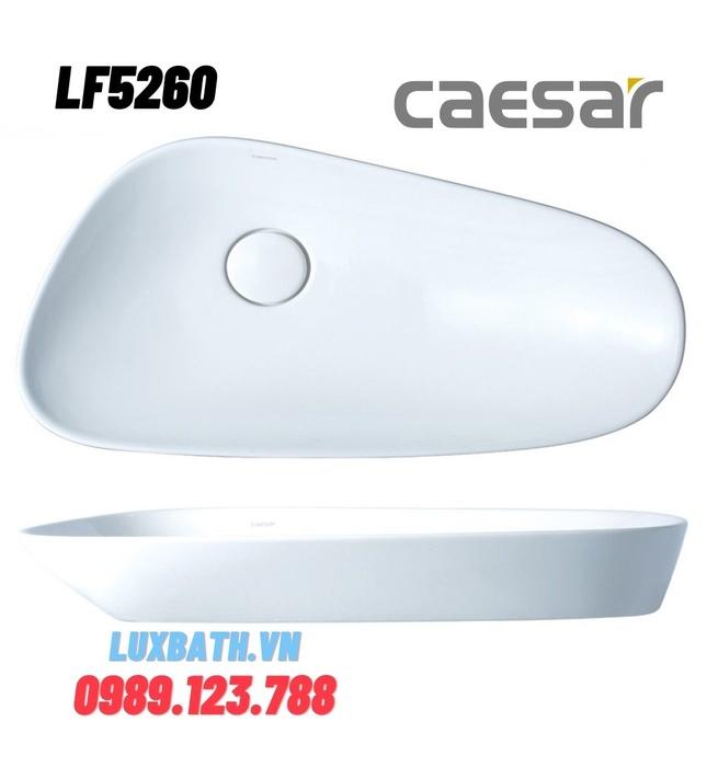 Chậu Rửa Mặt Đặt Bàn Caesar LF5260