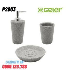 Bộ phụ kiện đá 3 món Geler P2003