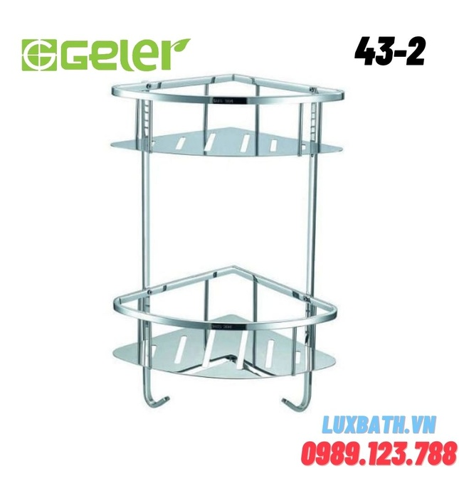 Kệ góc 2 tầng Geler 43-2