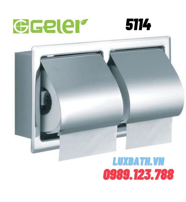 Lô giấy vệ sinh đôi Geler 5114