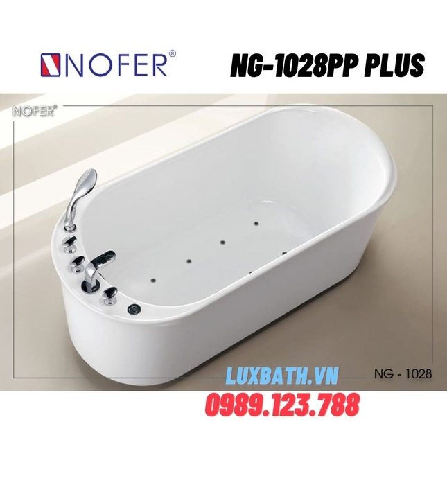 Bồn tắm Nofer NG-1028PP Plus