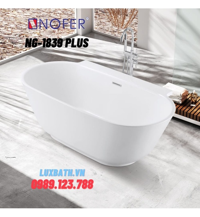 Bồn tắm Nofer NG-1839 PLUS