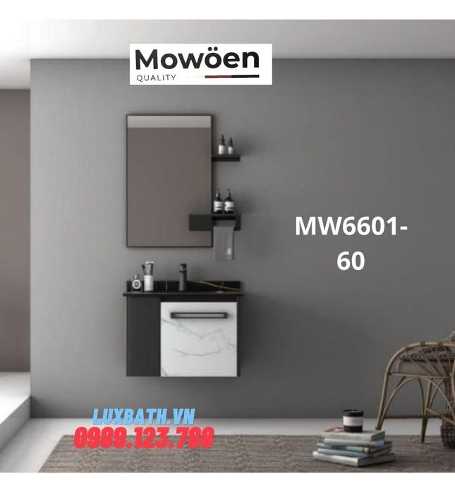 Bộ tủ chậu cao cấp đèn Led Mowoen MW6601-60