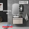 Bộ tủ chậu cao cấp đèn Led Mowoen MW6612-80