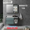 Bộ tủ chậu cao cấp đèn Led Mowoen MW6613-120